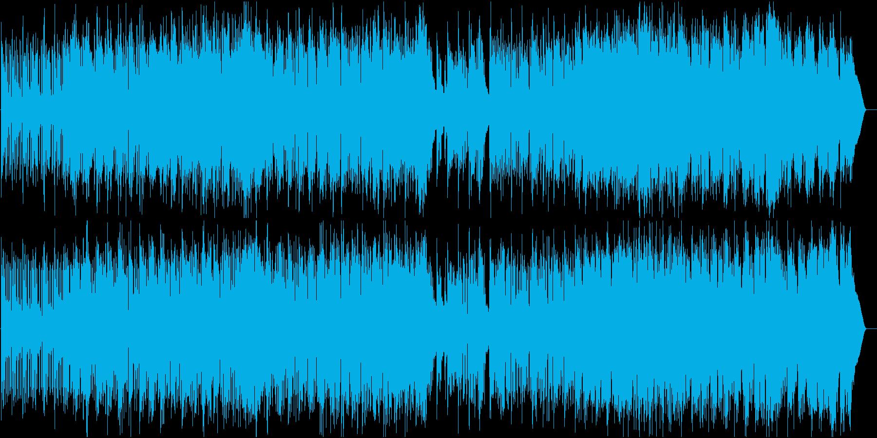 星と光のフルート幻想曲の再生済みの波形