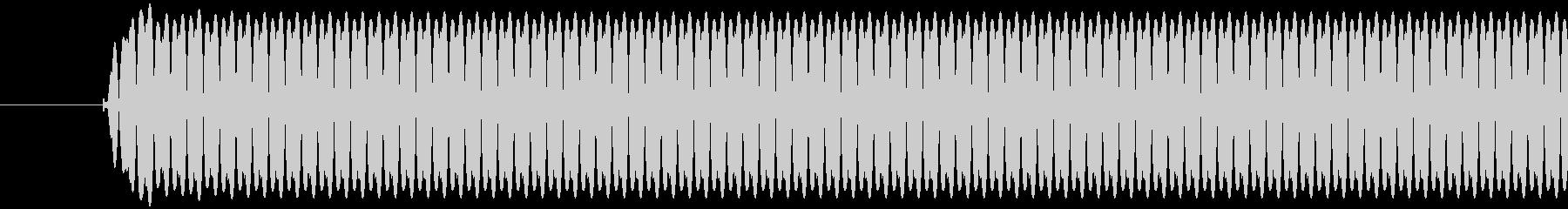 レジ(バーコードなどを読み取る)ポッの未再生の波形