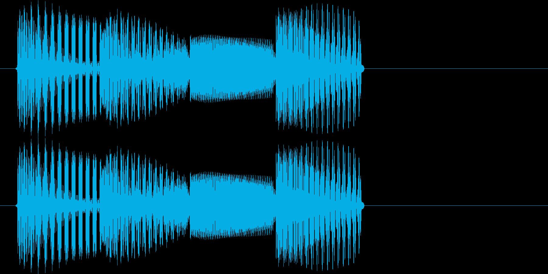 テロリラン_堅(スロットでの確定音)の再生済みの波形