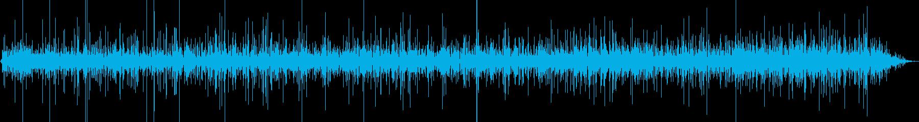 ぴちょぴちょ…洗濯機に水をためる音の再生済みの波形