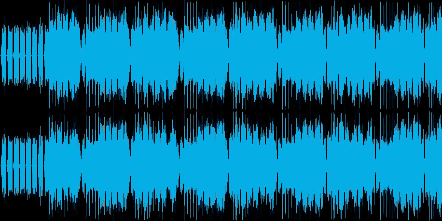 【カフェ/JAZZ/ロマンチック】の再生済みの波形