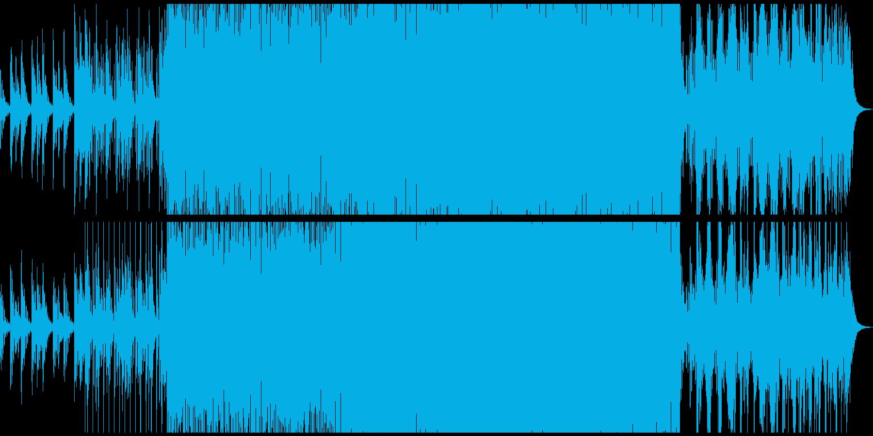 伸びやかでほんのり切ないシンセ・ソロの再生済みの波形