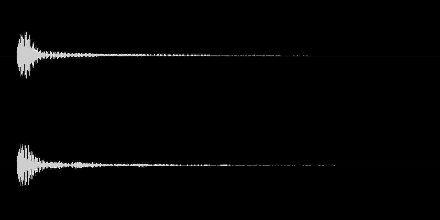 【サイバー06-3】の未再生の波形