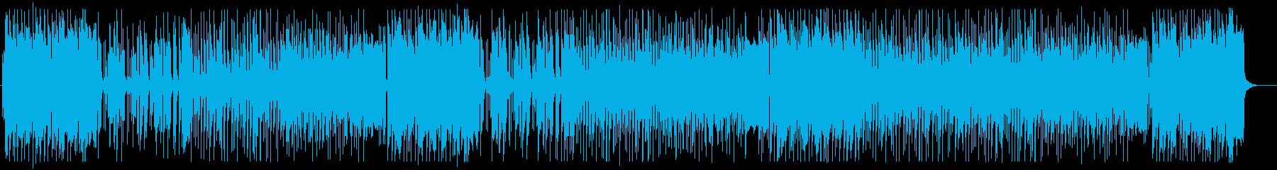 アイドルにぴったりのシンセポップの再生済みの波形