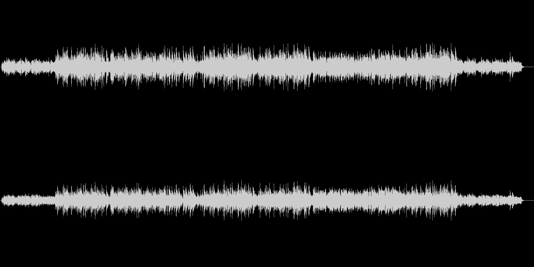 ベルの音が心にしみるスロー・バラードの未再生の波形