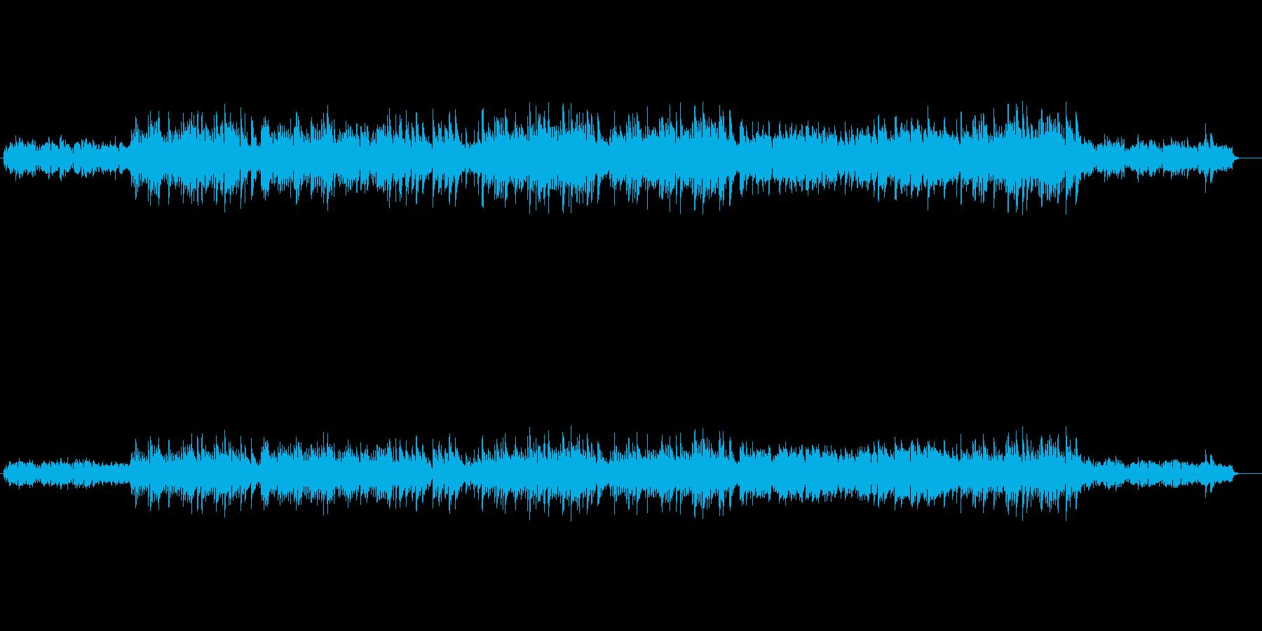ベルの音が心にしみるスロー・バラードの再生済みの波形
