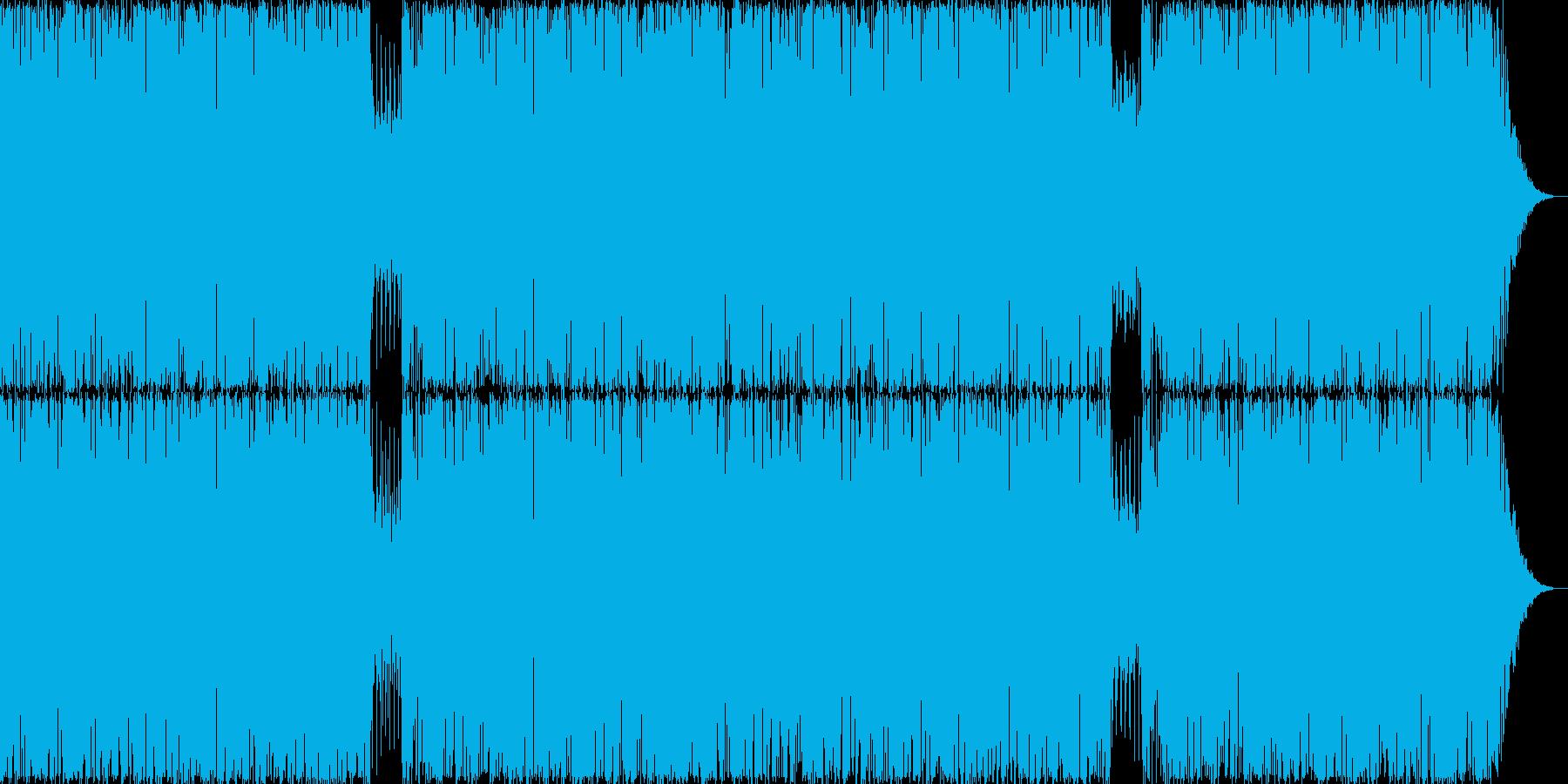 静かな疾走感。の再生済みの波形