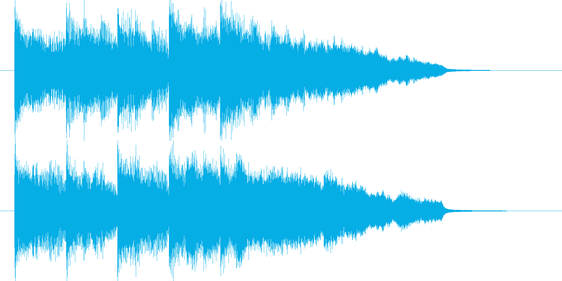 【ジングル】硬派、ニュース、アナウンスの再生済みの波形