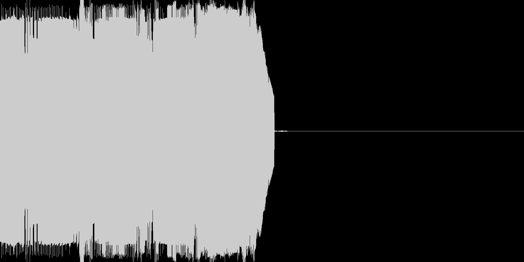 ノイズ(キュルキュル)の未再生の波形