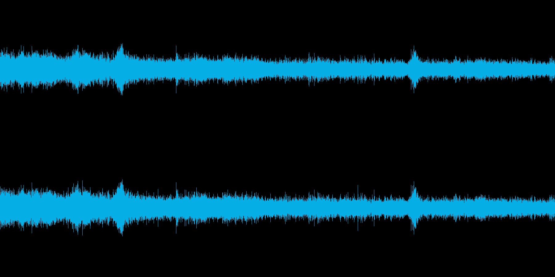 ザー・ざーの再生済みの波形
