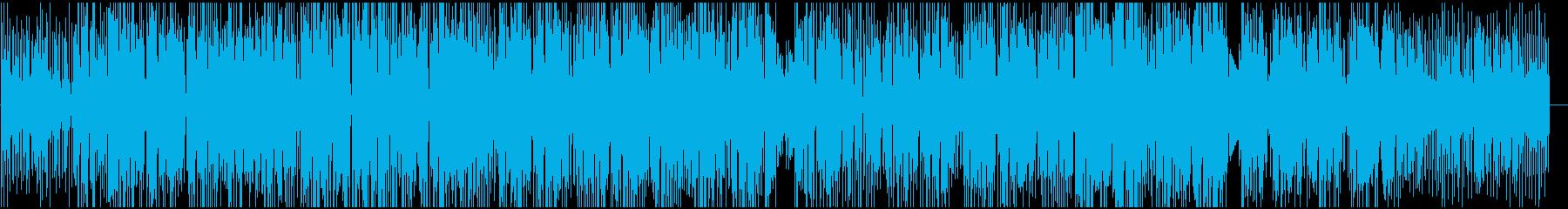 ジャジーな雰囲気のブレイクビーツBGMの再生済みの波形