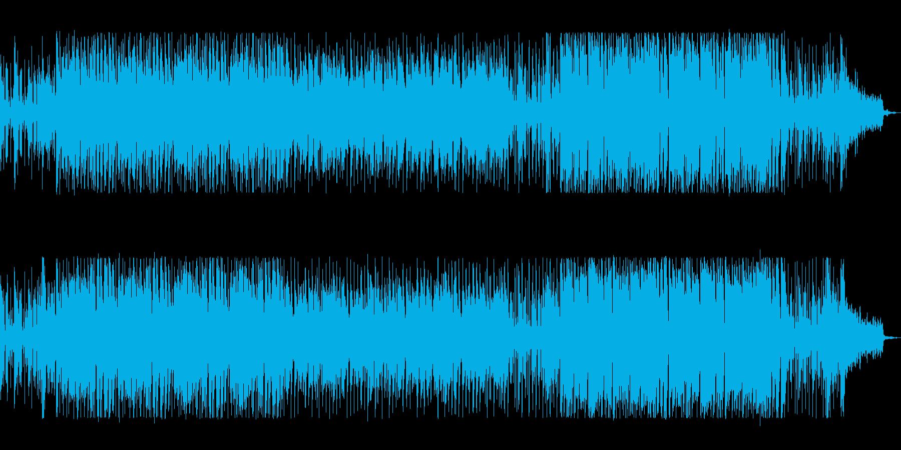 チャーミングでお洒落な楽曲の再生済みの波形