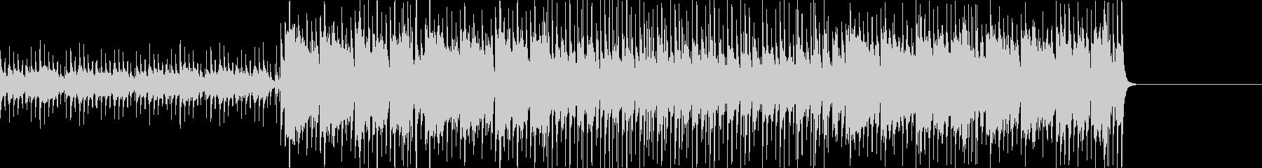和楽器を使用した日本風ポップスの未再生の波形