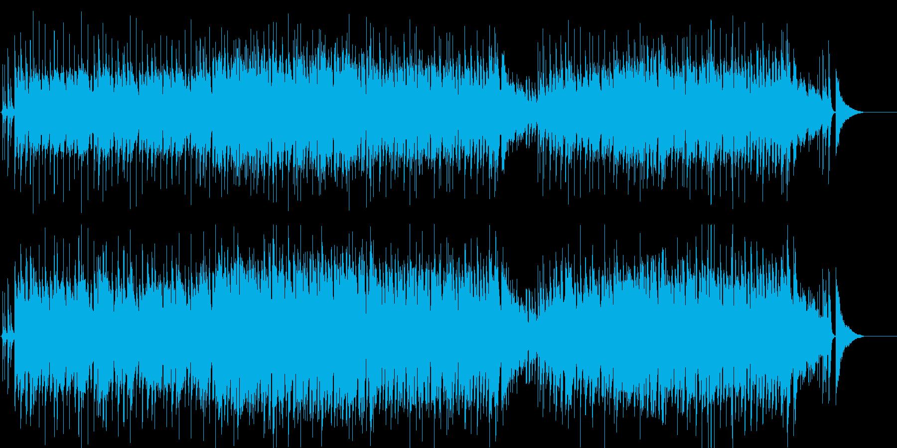 情報 楽しい アウトドア いきいきの再生済みの波形