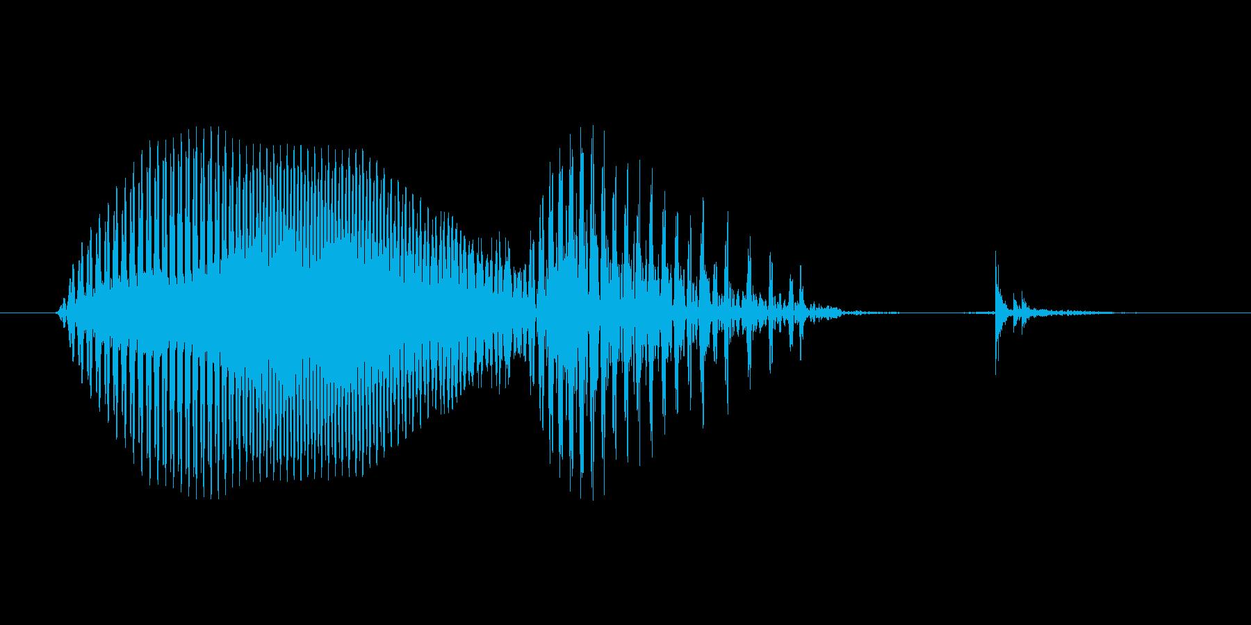 Music (ミュージック、英語、米国…の再生済みの波形