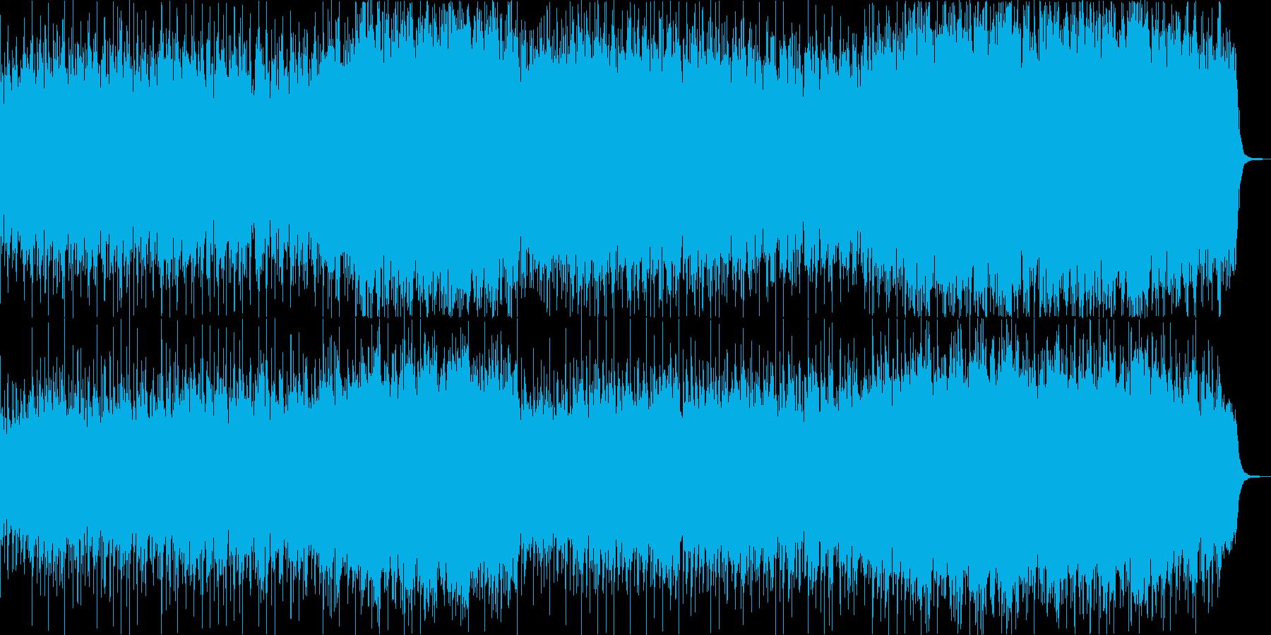 ミステリアスなファンタジックジャズワルツの再生済みの波形