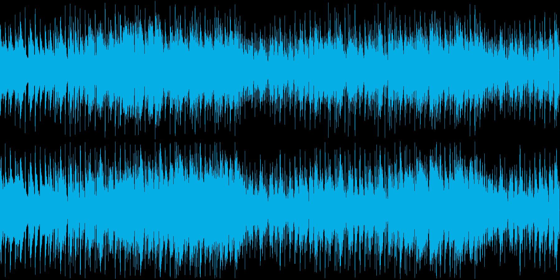 大人の雰囲気の落ち着いたジャズループの再生済みの波形
