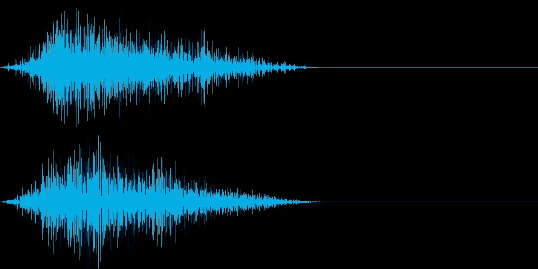 GAME ミス・エラー・キャンセル音の再生済みの波形