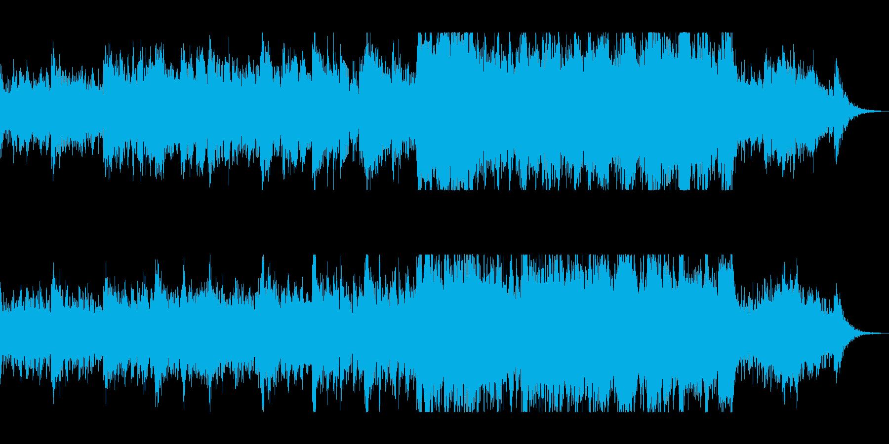 電子オーケストラの壮大サウンドトラックの再生済みの波形