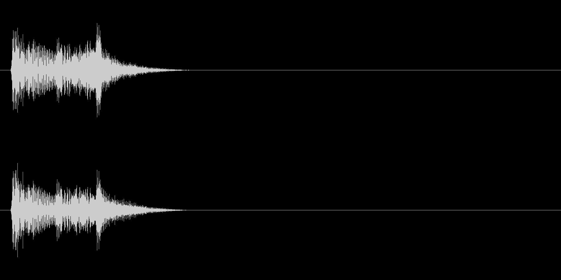 【ポップモーション01-3】の未再生の波形