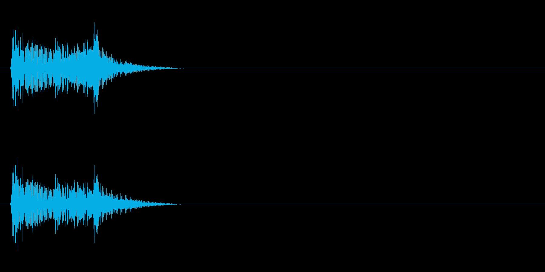 【ポップモーション01-3】の再生済みの波形