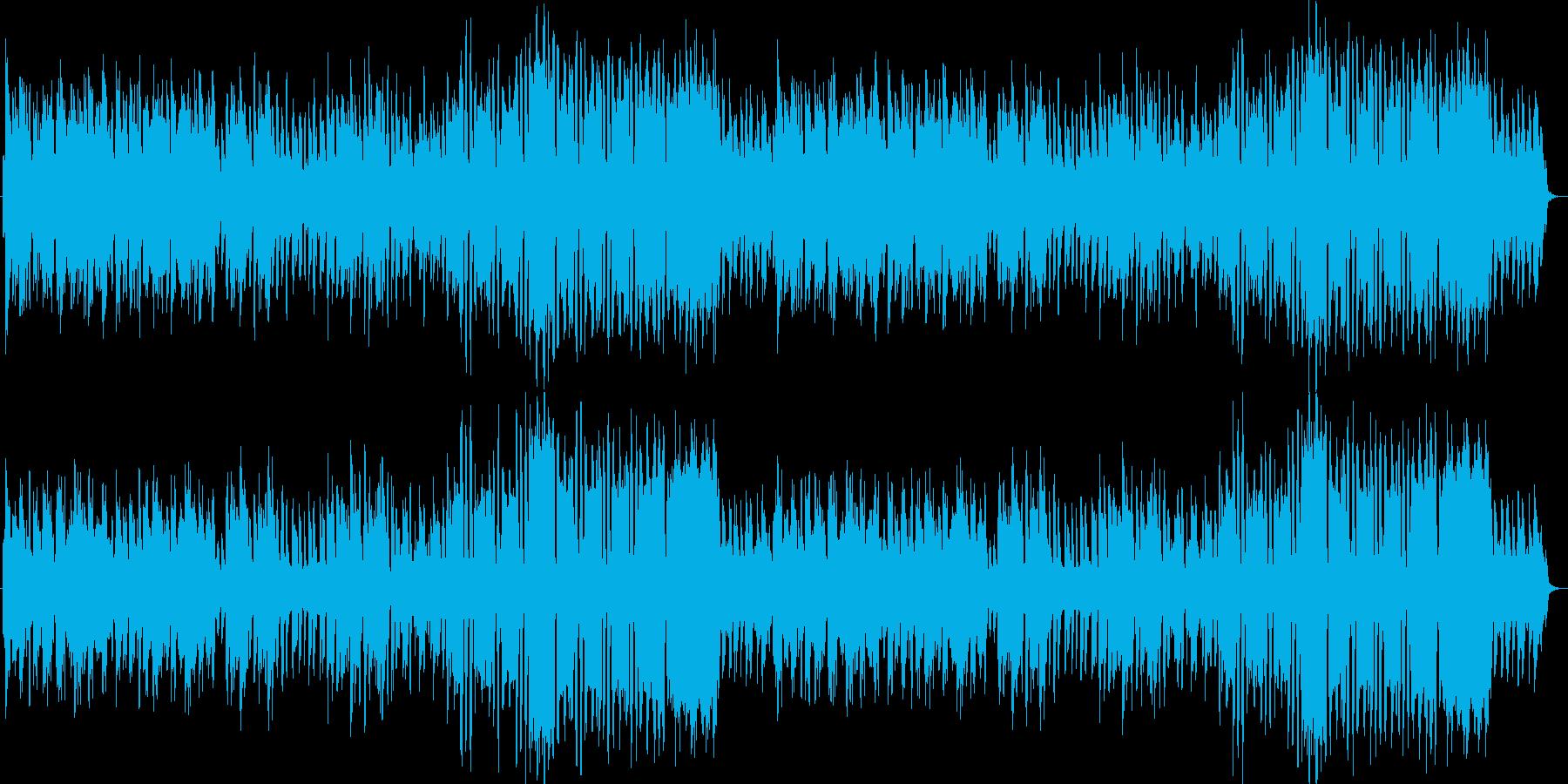 コミカルでポップなかわいい笛 バラエティの再生済みの波形