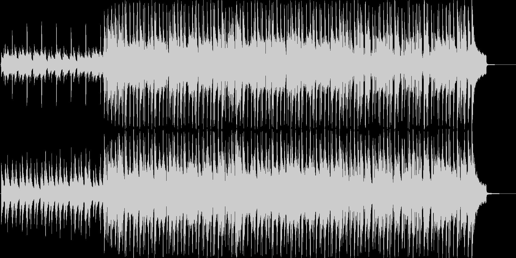 流行のコンセプトムービーBGMサウンド①の未再生の波形