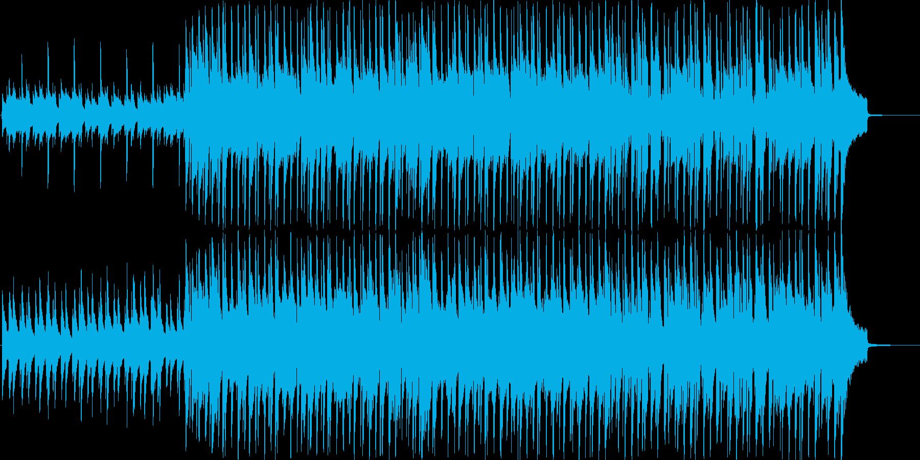 流行のコンセプトムービーBGMサウンド①の再生済みの波形