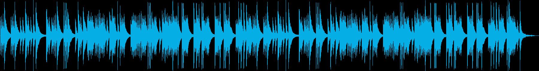 切ないピアノのラブバラードの再生済みの波形