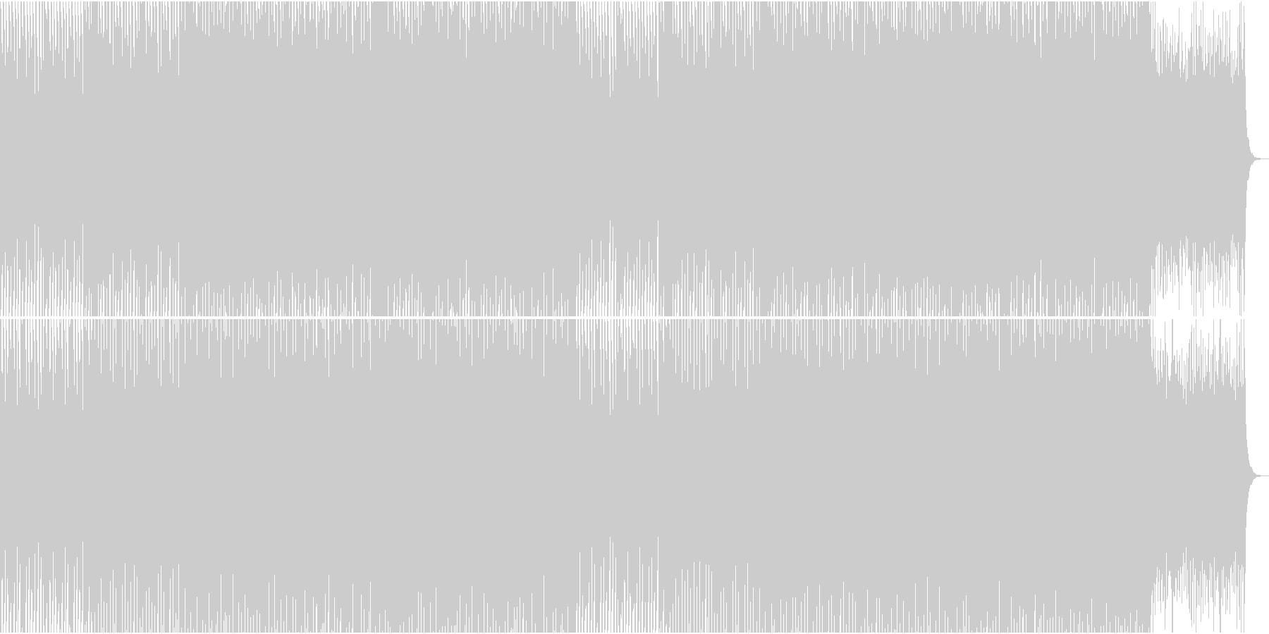 EDMクラブ系、製品紹介、商品紹介-10の未再生の波形
