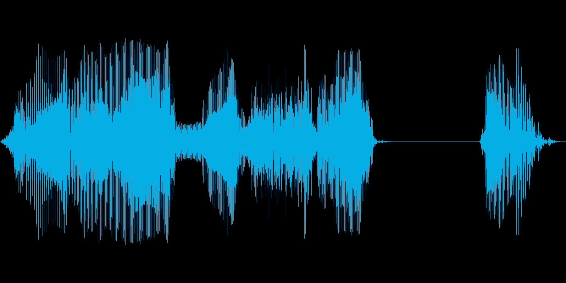 ゲームセットの再生済みの波形