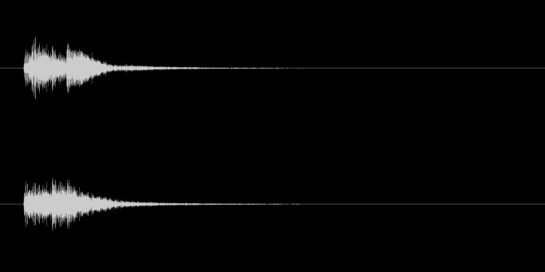 【ショートブリッジ10-3】の未再生の波形