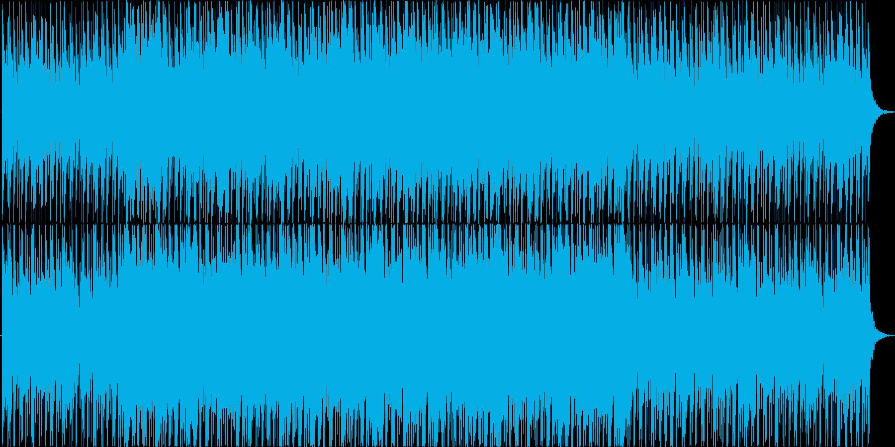 民族楽器を使用したフィールドBGMの再生済みの波形