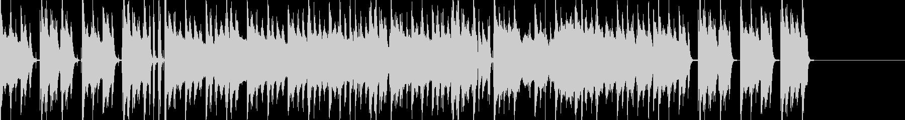 普段の日常で使われるBGMの未再生の波形