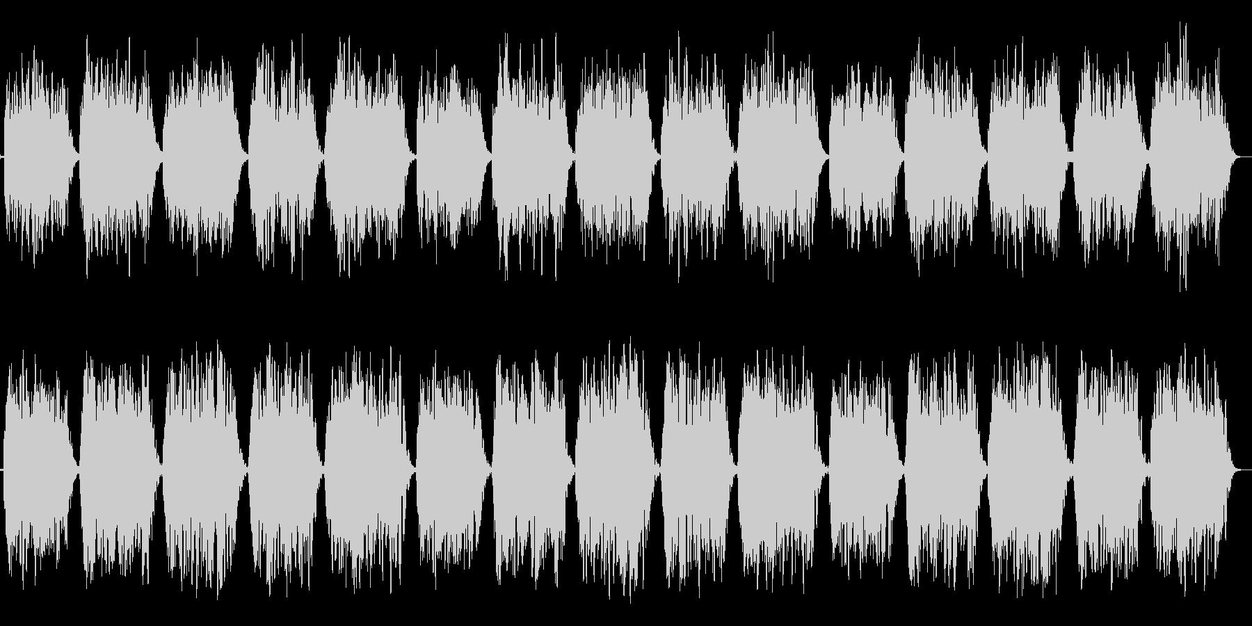 第一のチャクラ瞑想をC(ド)の音での未再生の波形