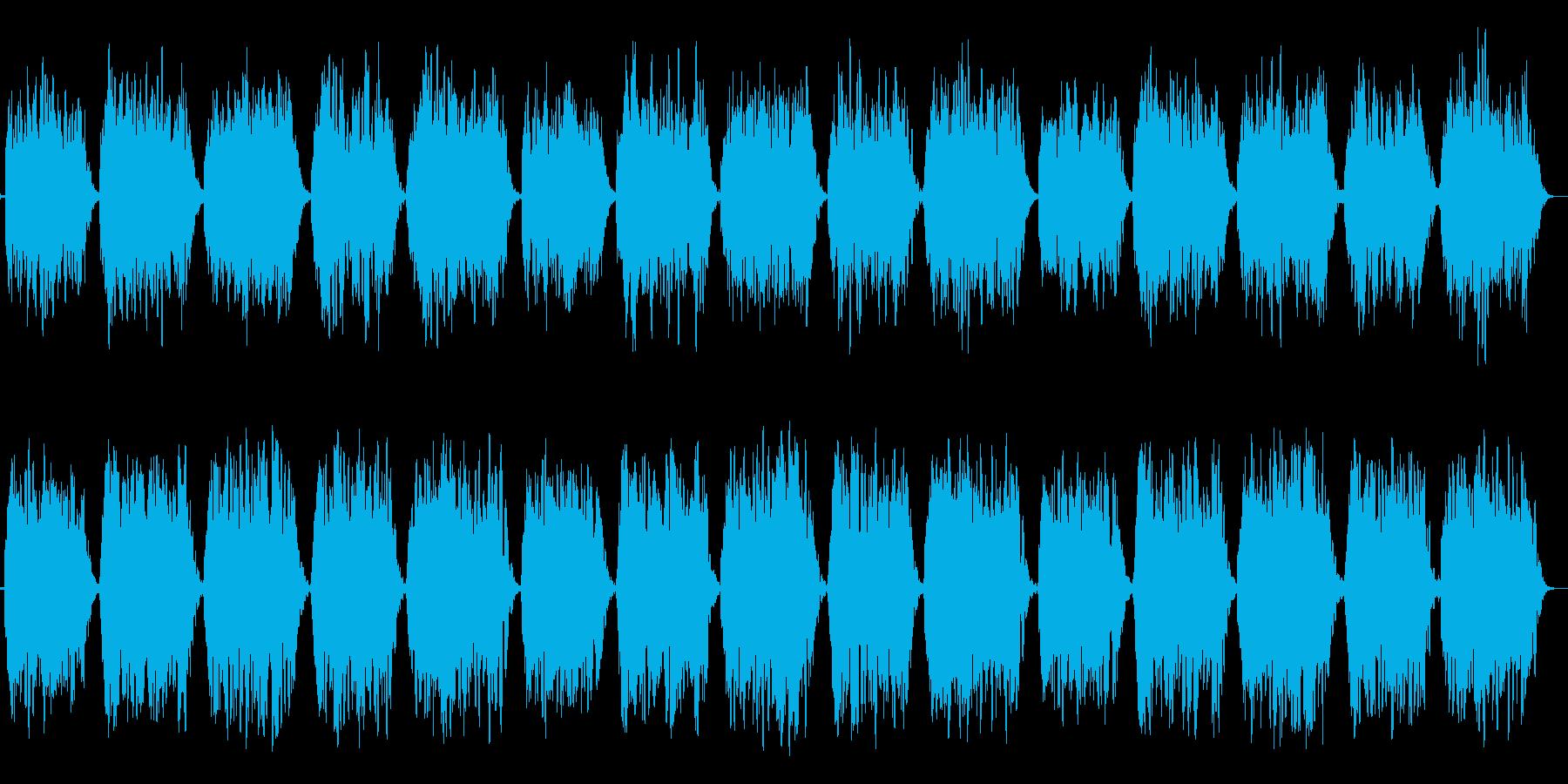 第一のチャクラ瞑想をC(ド)の音での再生済みの波形