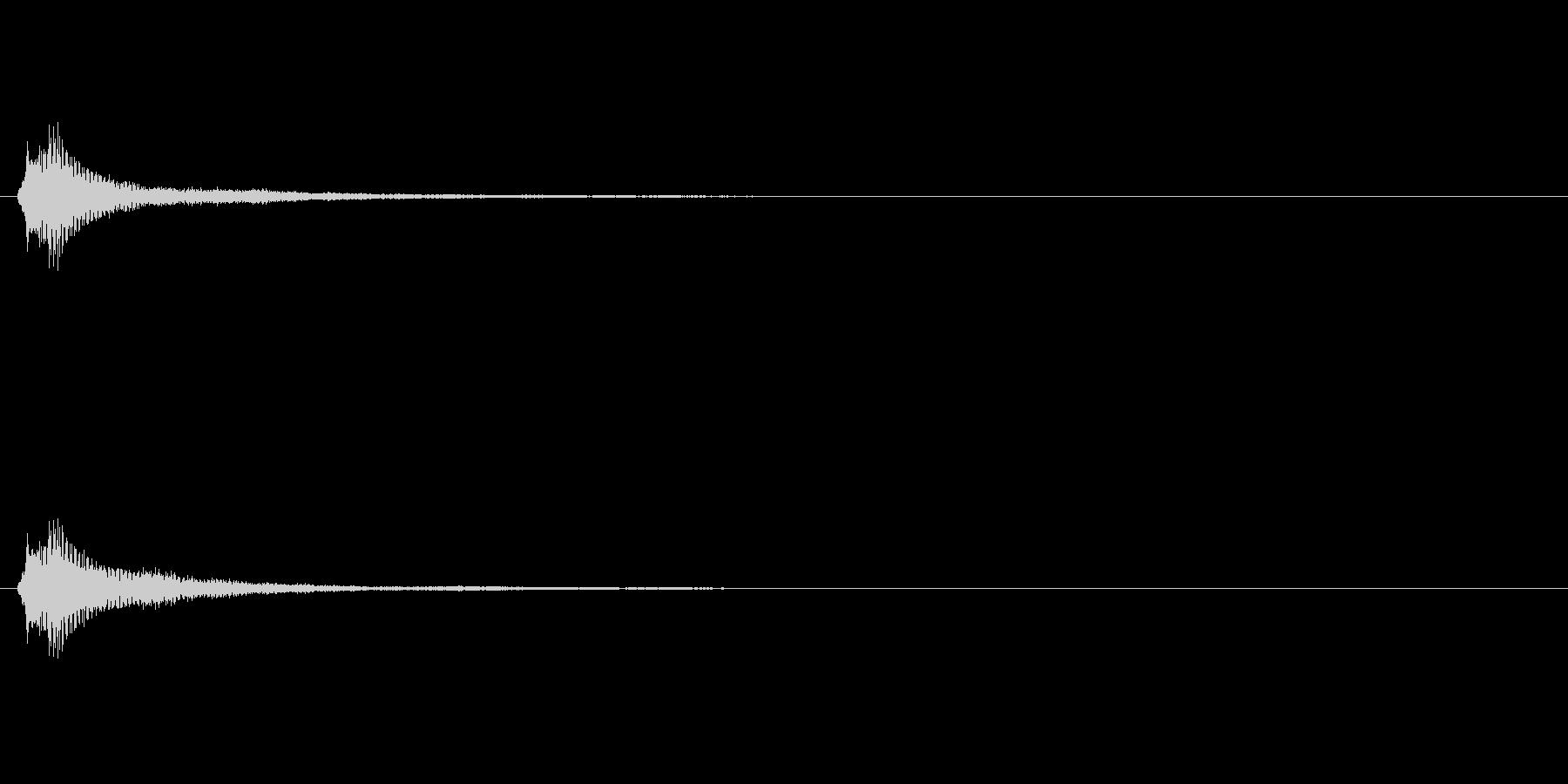サウンドロゴ(企業ロゴ)_007の未再生の波形