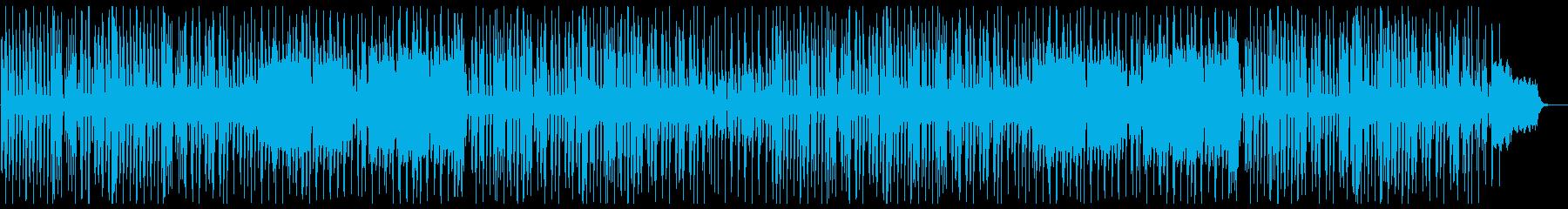 ちょっぴり切ない気分になれるお洒落な曲の再生済みの波形