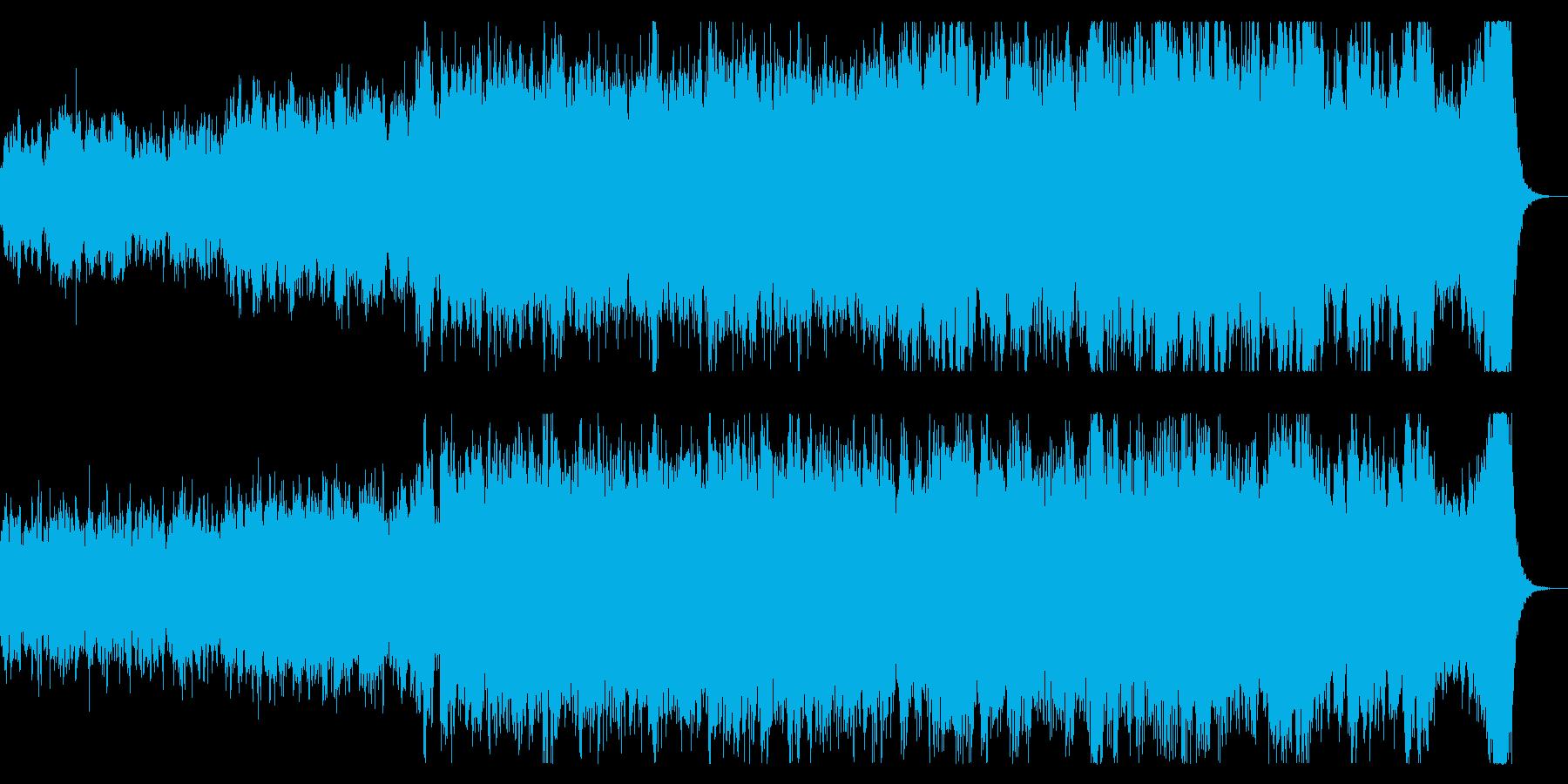 壮大なファンタジックなオーケストラ 聖戦の再生済みの波形