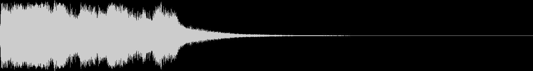 ファンファーレ 当たり 正解 合格 02の未再生の波形