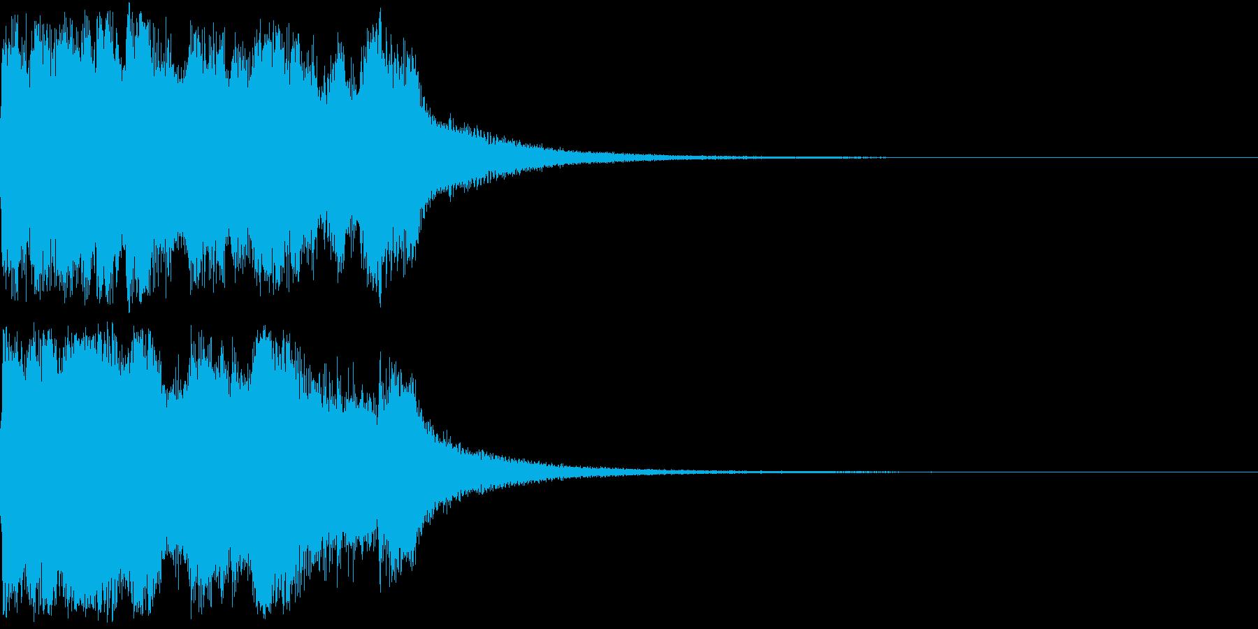 ファンファーレ 当たり 正解 合格 02の再生済みの波形