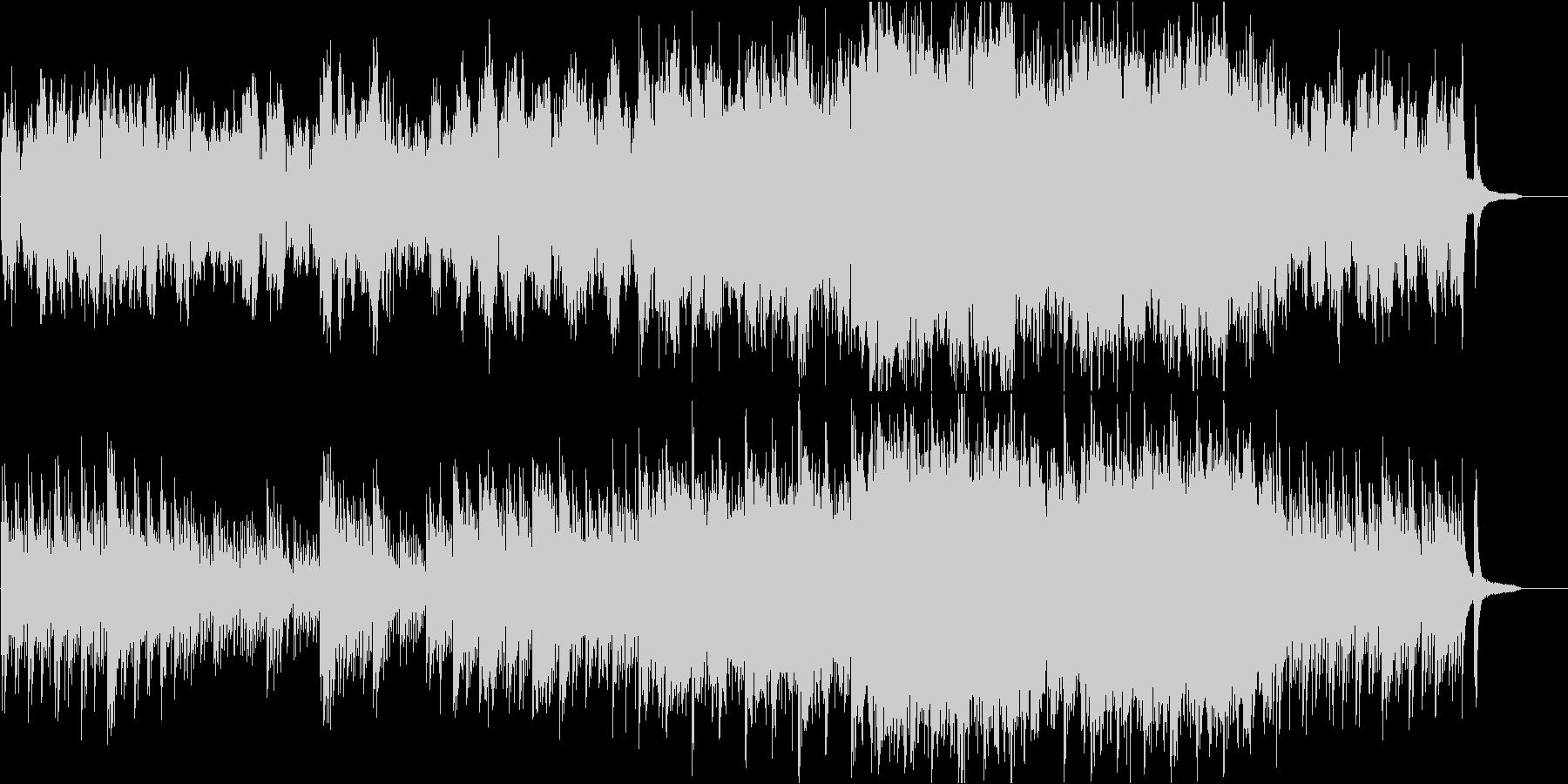 オーケストラ企業向 静かなピアノ感動壮大の未再生の波形