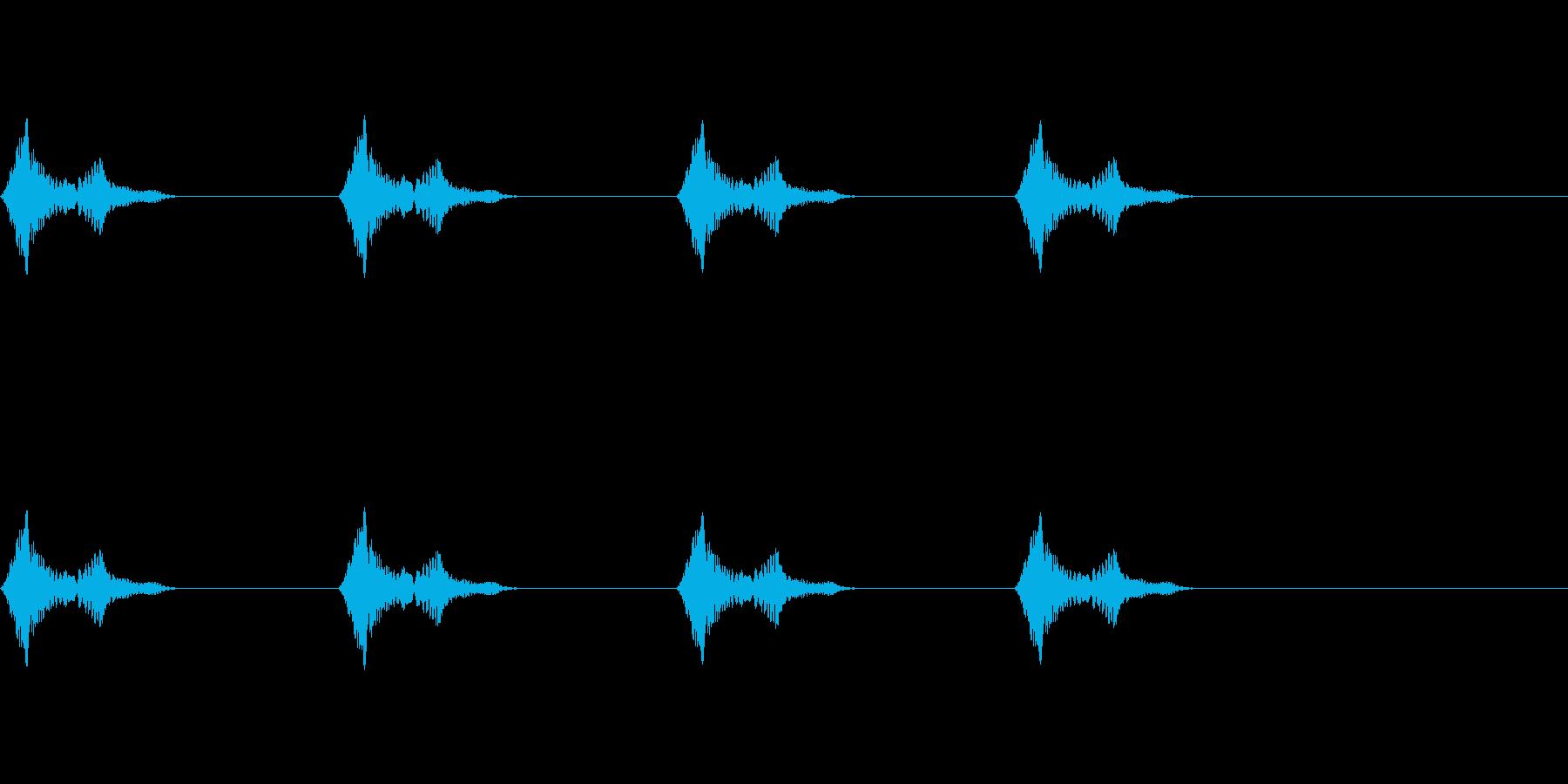 風船/バルーン/雲/ふわふわ/注入の再生済みの波形