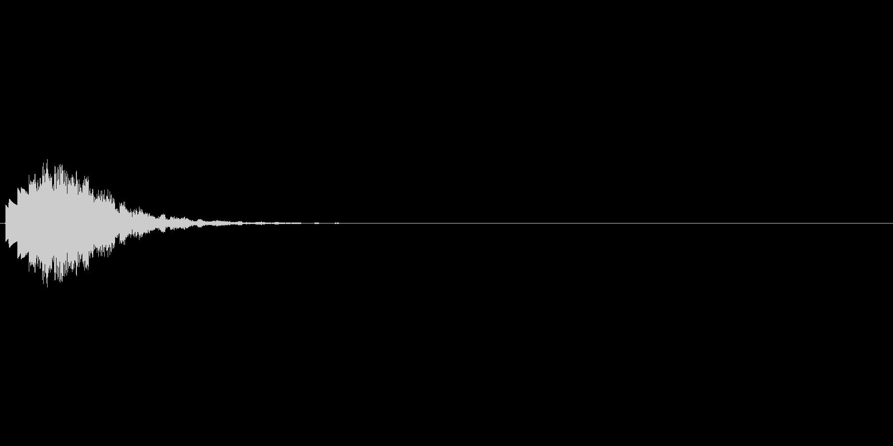 ピロリロッ↑(回復、癒しの魔法)の未再生の波形