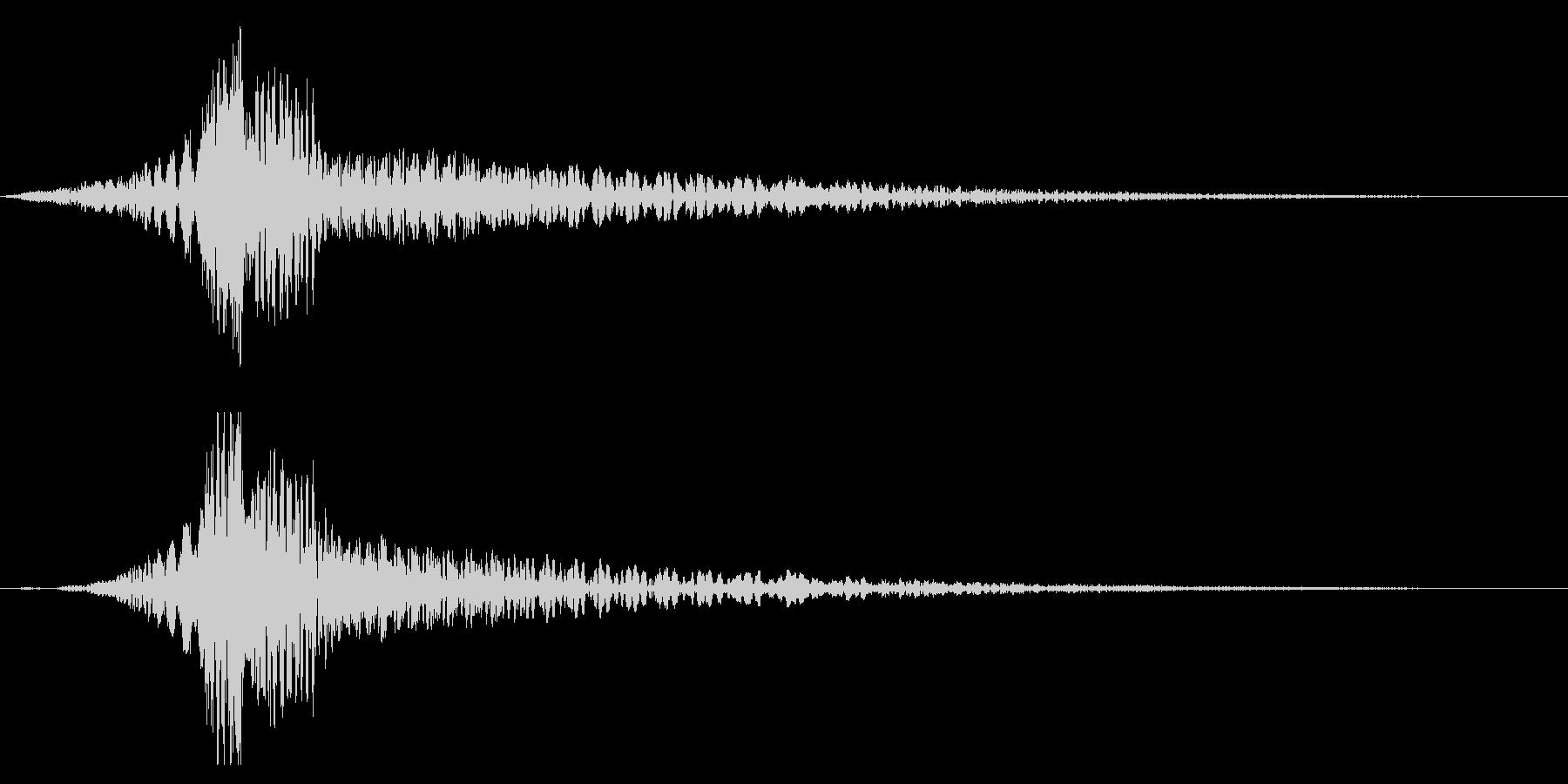 ホラー系アタック音88の未再生の波形