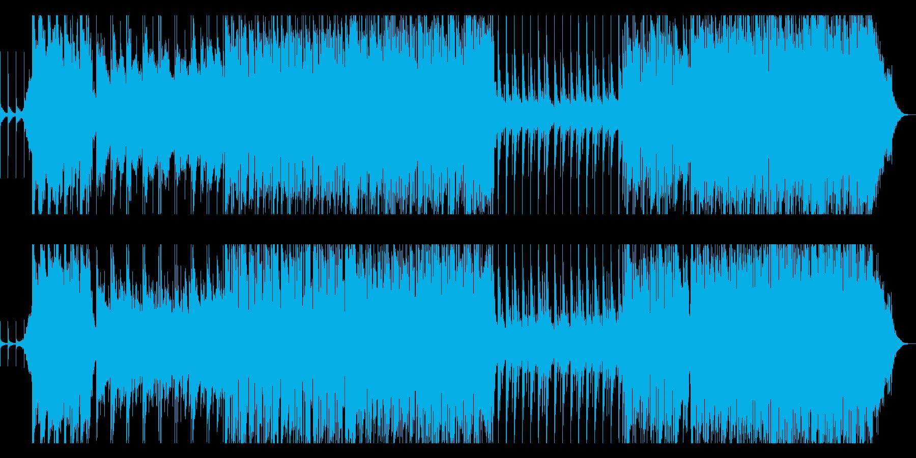 家路/ポップアレンジの再生済みの波形