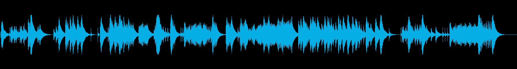 ドビュッシー亜麻色の髪の乙女 オルゴールの再生済みの波形