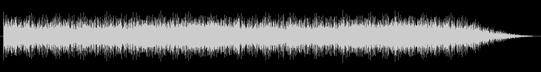 ショートBGM:シリアス・内生的01の未再生の波形