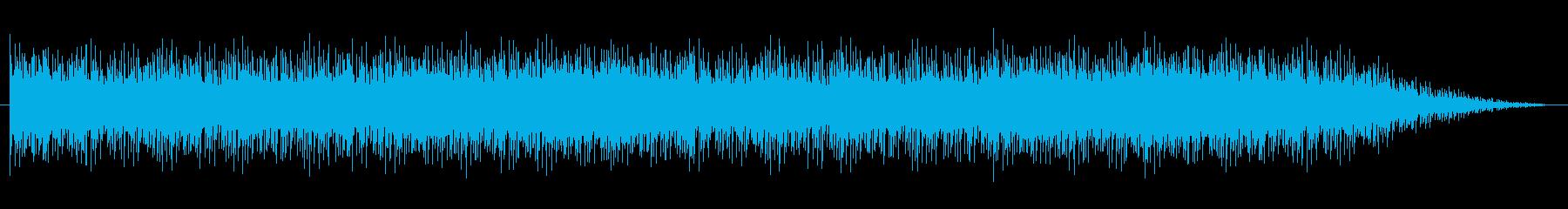 ショートBGM:シリアス・内生的01の再生済みの波形