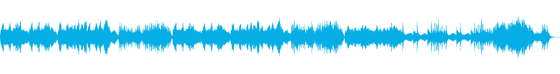 ホラーテイストのオーケストラ の再生済みの波形